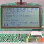 Ecran LCD - MP3 Player