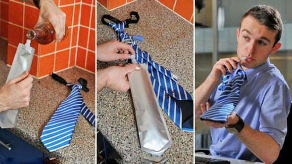 Cravata falsa