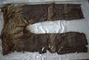 Pantaloni vechi gasiti in China