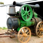 Motor cu aburi portabil